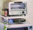 レンジ上収納棚 モノが多いキッチンを、できる限り秩序立てる P25Apr15