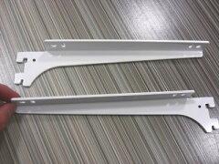 ロイヤル A−32、33 木棚板専用ブラケットウッドブラケット 左右セットAホワイト 呼び名200...