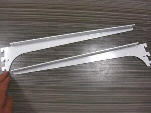 ロイヤル A−32、33 木棚板専用ブラケットウッドブラケット 左右セットAホワイト 呼び名350...