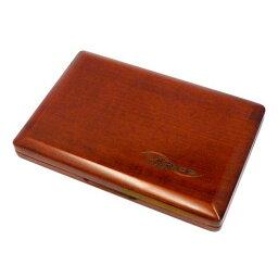 ヴィヴァーチェ : 木製リードケース テナーサックス / バスクラリネット用 6枚収納 ブラウン