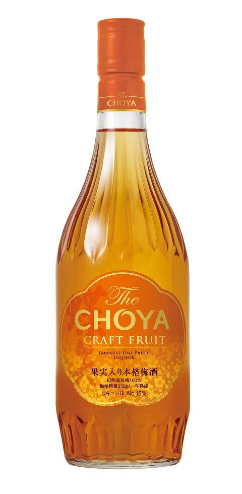 日本酒・焼酎, 梅酒  The CHOYA CRAFT FRUIT 720ml 112