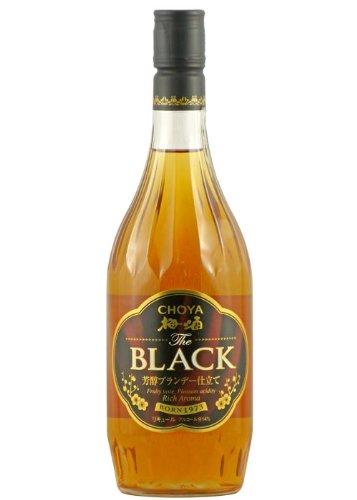 梅酒 チョーヤ ザ ブラック720ml 和歌山県 チョーヤ梅酒 ギフト プレゼント
