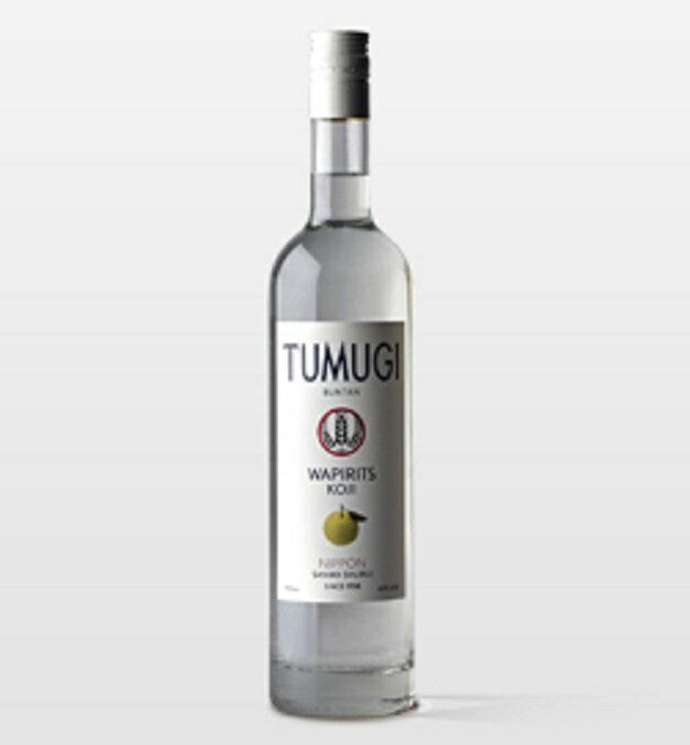 ギフト プレゼント WAPIRITS TUMUGI BUNTAN 43度750ml瓶 大分県 三和酒類