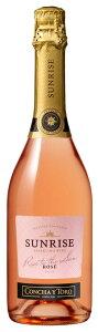 ギフト プレゼント 家飲み 家呑み スパークリングワイン サンライズ スパークリング・ロゼ ロゼ750ml チリ 辛口