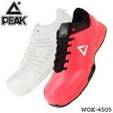 安全靴 作業靴 ピーク スニーカー おしゃれ 耐滑 耐油 通気性 全2色 24.5cm-30cm WOK-4505 【送料無料】