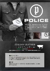 POLICE(ポリス)EVEN(イーブン)ショートウォレット二つ折り財布