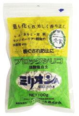 水質浄化・根腐れ防止・ハイドロ・珪酸塩白土ソフトシリカ ミリオンA 100g ブロックシリコ