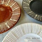 プレートgroveグローヴ馬徳陶苑ケーキ皿北欧風全3色陶器やきもの波佐見焼ハンドメイド