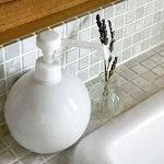 LOLO/BSTYLEKITCHENグローブシャワーボトル350mlアルコール消毒詰め替え容器白磁日本製ロロ