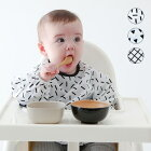 chocolatesoup/GEOMETRYSMOCKジオメトリースモックチョコレートスープベビーお食事エプロン