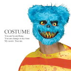 【即納】 キラーベア ブルー 殺人熊 ホラー マスク かぶりもの メンズ 衣装 仮装 ハロウィン コスプレ 衣装 コスチューム 【FUN WORLD】