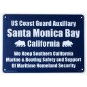 【即納】 プラスティックサインボード CA-40 サンタモニカ湾岸警備...