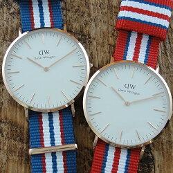 ペア腕時計ボックス付きダニエルウェリントン時計ペアウォッチクラシックエクセターNATOベルト0113DW0112DW