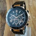 国内正規品 サルバトーレマーラ 時計 メンズ 腕時計 クロノグラフ ブラック SM7019SS-PGBK ビジネス 男性 ブランド 時計 誕生日 お祝い クリスマスプレゼント ギフト お洒落