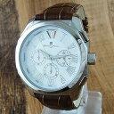 国内正規品 サルバトーレマーラ 時計 メンズ 腕時計 クロノグラフ ブラウンレザー SM14122-SSWH ビジネス 男性 ブランド 時計 誕生日 お祝い クリスマスプレゼント ギフト お洒落