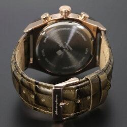 国内正規品サルバトーレマーラ時計メンズクロノグラフSM15115-PGBR