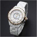 国内正規品 サルバトーレマーラ 時計 レディース 腕時計 ホワイト セラミック デイカレンダー SM15151-PGWHA ビジネス 男性 ブランド 時計 誕生日 お祝い クリスマスプレゼント ギフト お洒落