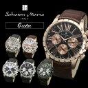 国内正規品 サルバトーレマーラ メンズ 腕時計 選べる5カラー レザー...