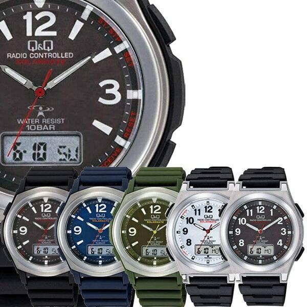 電波ソーラースーツ仕事ビジネス国内正規品選べる5モデル腕時計メンズレディースCITIZENシチズンQ&Qキューアンドキュー時計ア