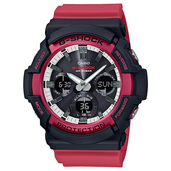 CASIO G-SHOCK Red watch CASIO G-SHOCK G GAS-100R...
