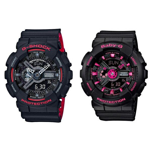 腕時計, ペアウォッチ 5 G G 2010 GA-110HR-1ABA-111-1A