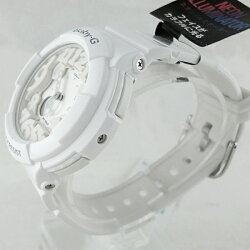 カシオBaby-GベビーG時計レディース腕時計ネオンカラーシリーズホワイトBGA-131-7BJF