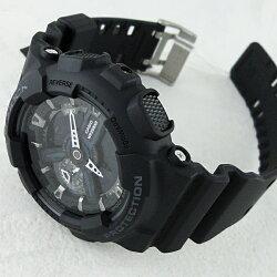 カシオGショック時計メンズ腕時計ブラックGA-110-1BJF