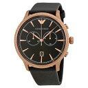 エンポリオアルマーニ 時計 メンズ 腕時計 クロノグラフ ゴールド ブラック レザー AR1792 ビジネス 男性 ブランド 時計 誕生日 お祝い クリスマスプレゼント ギフト お洒落