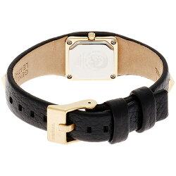 ディーゼル時計レディース腕時計ゴールドブラックステンレスレザーDZ5503