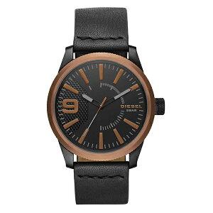 ディーゼル 時計 メンズ 腕時計 ラスプ ブロンズ ブラック レザー DZ1841 ビジネス 男性 ブランド 誕生日 お祝い プレゼント ギフト