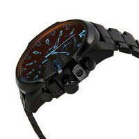 ディーゼル 時計 メンズ 腕時計 メガチーフ ビックケース クロノグラフ ブラック DZ4318 ビジネス 男性 ブランド 【仕事用】 誕生日 お祝い クリスマスプレゼント ギフト お洒落