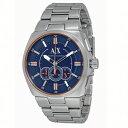 アルマーニエクスチェンジ 時計 メンズ 腕時計 クロノグラフ シルバー ステンレス AX1800 ビジネス 男性 ブランド 時計 誕生日 お祝い クリスマスプレゼント ギフト お洒落