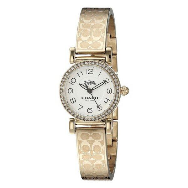8be657b4d394 コーチ 時計 レディース 腕時計 MADISON マディソン ゴールド ステンレス バングル クリスタル 14502871 ビジネス 女性 ブランド 【 仕事