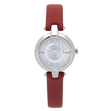 FURLA フルラ 時計 レディース 腕時計 リンダ 24ミリ レッド レザー シルバーケース シルバー文字盤 R4251106504 ビジネス 女性 ブランド 時計 誕生日 お祝い クリスマスプレゼント ギフト お洒落