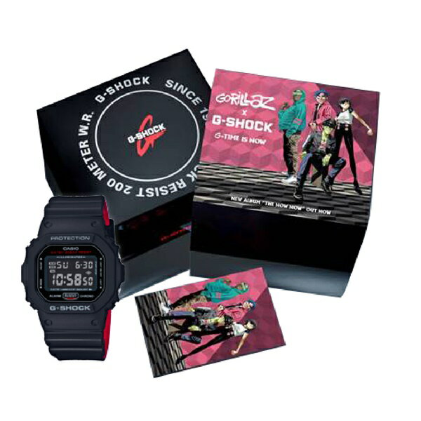 腕時計, メンズ腕時計  G-SHOCKGORILAZ G G-SHOCK DW-5600HRGRZ-1