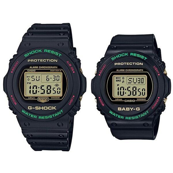 腕時計, ペアウォッチ CASIO G-SHOCK Baby-G G G 2 90 90S DW-5700TH-1BGD-570TH-1