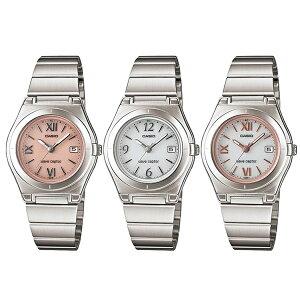 【選べる3モデル】国内正規品 CASIO カシオ 時計 レディース 腕時計 WAVE CEPTOR ウェーブセプター 電波ソーラー アナログ メタルバンド LWQ-10DJ ブランド 女性