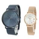 ペア価格 2本セット COACH コーチ 腕時計 ペアウォッチ メンズ レディース ネイビー ピンクゴールド 1460214614503520