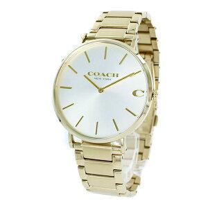 コーチ 時計 メンズ 腕時計 CHARLES チャールズ シルバー ゴールド ステンレス シンプル 14602430 ビジネス 男性 ブランド 誕生日 お祝い プレゼント ギフト