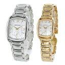 ペアウォッチ プレゼント 内祝い 結婚祝い 夫婦 両親 記念日 長く愛用できる 腕時計 ハミルトン メンズ レディース バグリー シルバー ゴールド レトロ アメリカンクラシック・・・
