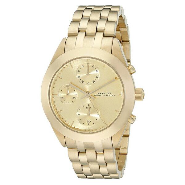 マーク バイ マーク ジェイコブス 時計 レディース 腕時計 PEEKER ピーカー クロノグラフ ゴールド ステンレス MBM3393 ブランド 女性 誕生日 お祝い プレゼント ギフト