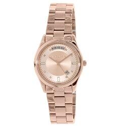 マイケルコース時計レディースCOLETTEコレットデイデイトクリスタルローズゴールドMK6071