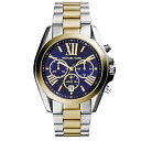マイケルコース 時計 メンズ レディース ボーイズサイズ 腕時計 ブラッドショー クロノグラフ ネイビー文字盤 ゴールド シルバー ステンレス MK5976 ビジネス 男女 ユニセックス 誕生日 お祝い ギフト