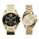 限定特価 マイケルコース 時計 ペアウォッチ ブラッドショー クロノグラフ ゴールド MK5739MK5798 カップル 男女 ペアセット 誕生日 お祝い ギフト・・・