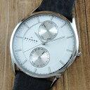 スカーゲン 時計 メンズ 腕時計 マルチファンクション シルバー ブラ...