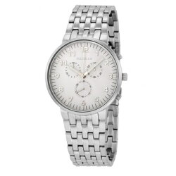 SKAGENスカーゲン時計メンズ腕時計ANCHERアンサーシルバーホワイト文字盤夜光シルバー指針クロノグラフスモールセコンドステンレスシルバーブレスレットSKW6231