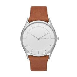 スカーゲン時計レディース腕時計ホルストブラウンレザーSKW2453