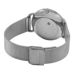 スカーゲン時計メンズ腕時計ハーゲンブルー文字盤シルバーメッシュブレスSKW6230