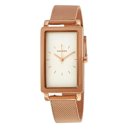 スカーゲン 時計 レディース 腕時計 ハーゲン レクタンギュラー ローズゴールド ステンレス メッシ...