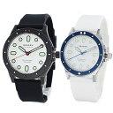 ペア ギフト 友達 カップル 夫婦 20代 30代 スカーゲン ペアウォッチ 腕時計 メンズ レディース 防水 シンプル スリム 白文字盤 ブラック ホワイト シリコン